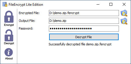 FileEncrypt Lite Edition